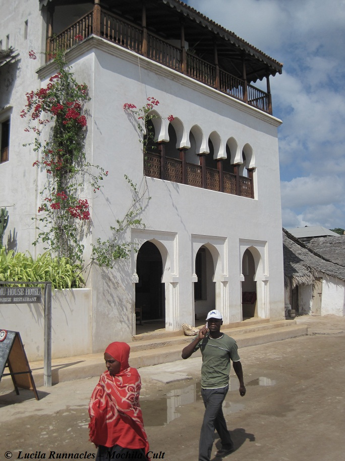 Fachada do Lamu House Hotel