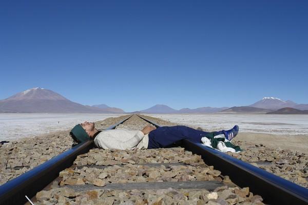 Salar de Uyuni, Bolívia,
