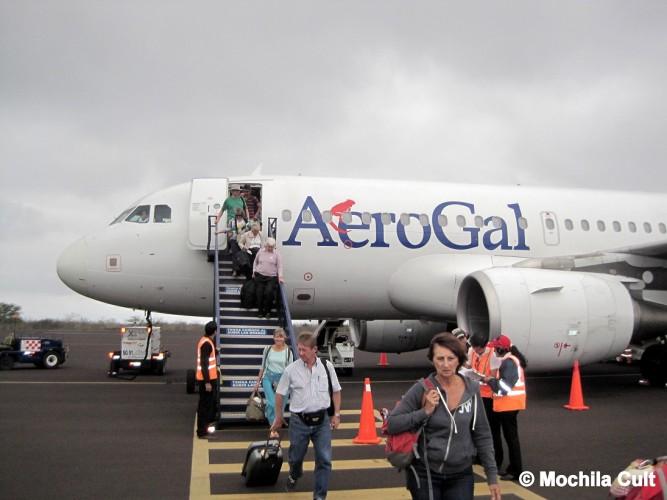 Como é voar com a Aerogal