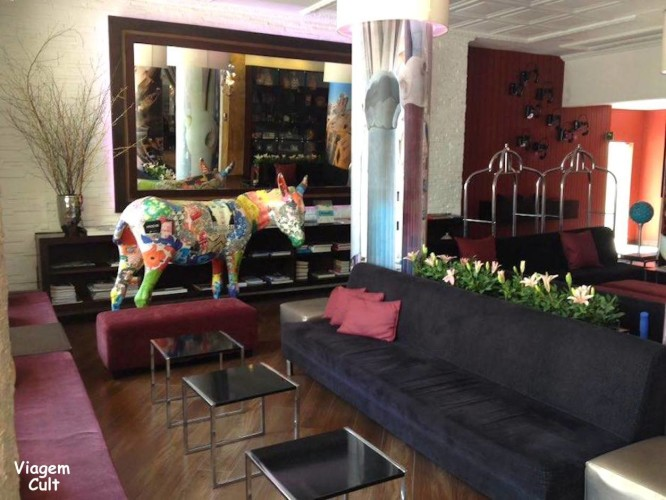 Lobby do Hotel Augusta