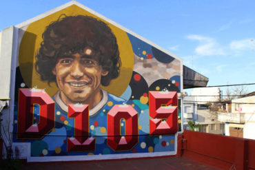 La casa de D1Os, o museu do Maradona em B. Aires