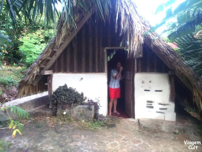 Essas são as cabanas do Zopilote