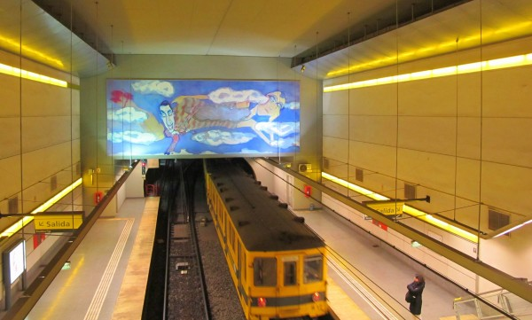 Linha H do metrô de Buenos Aires. Foto: Gisele Teixeira