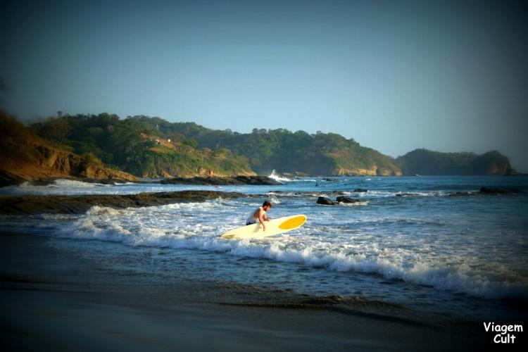 A linda praia Maderas
