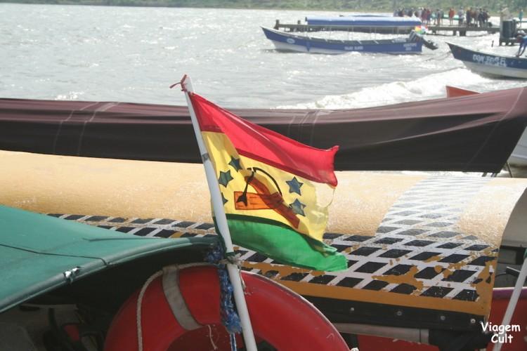 Esta é a bandeira dos Kunas