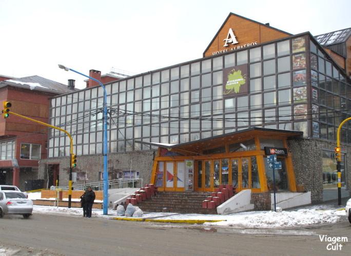Fachada do Hotel Albatros