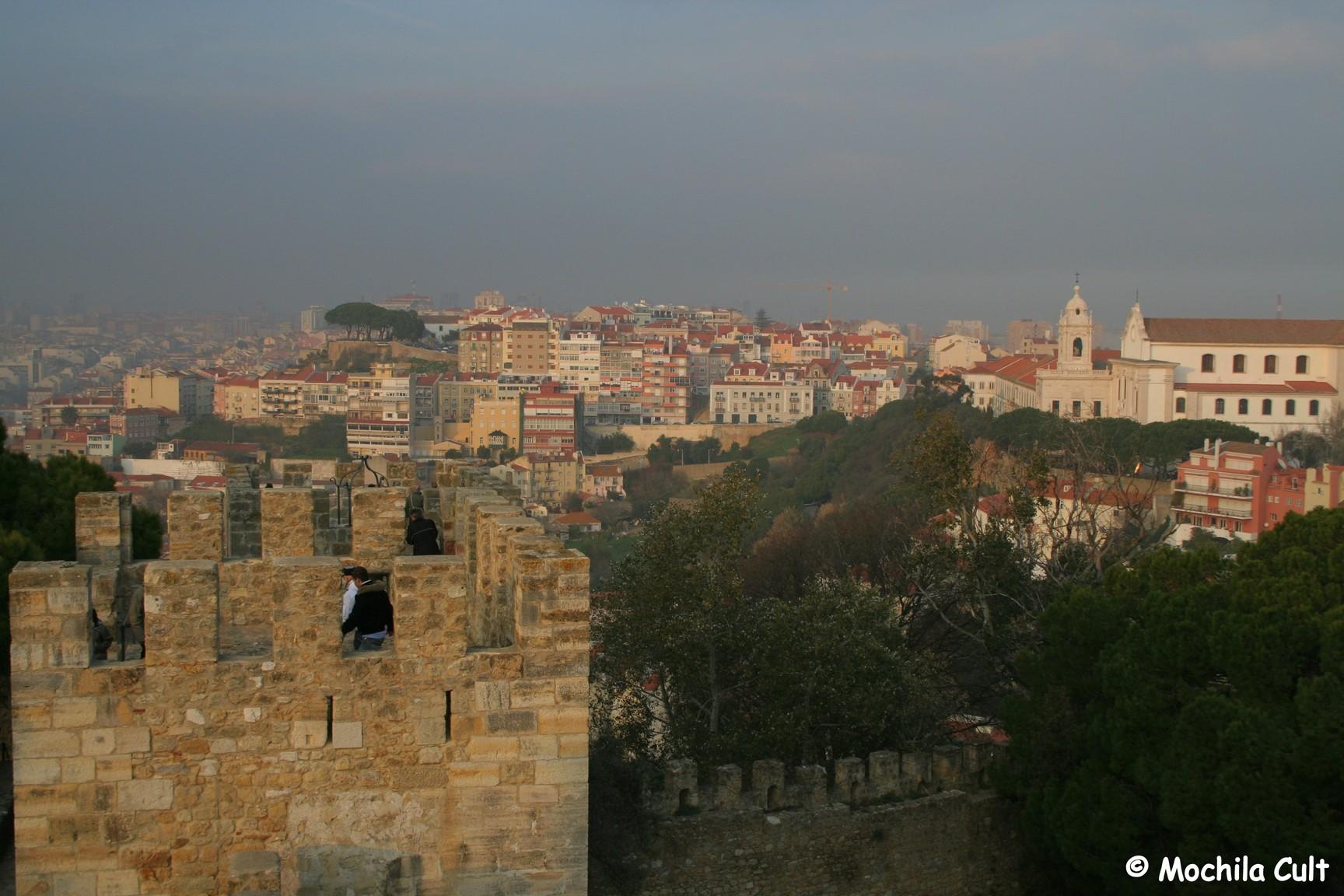 Vista desde o Castelo São Jorge