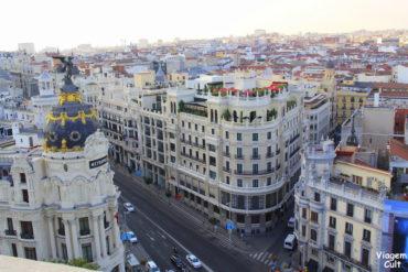 6 lugares para ver Madri de cima
