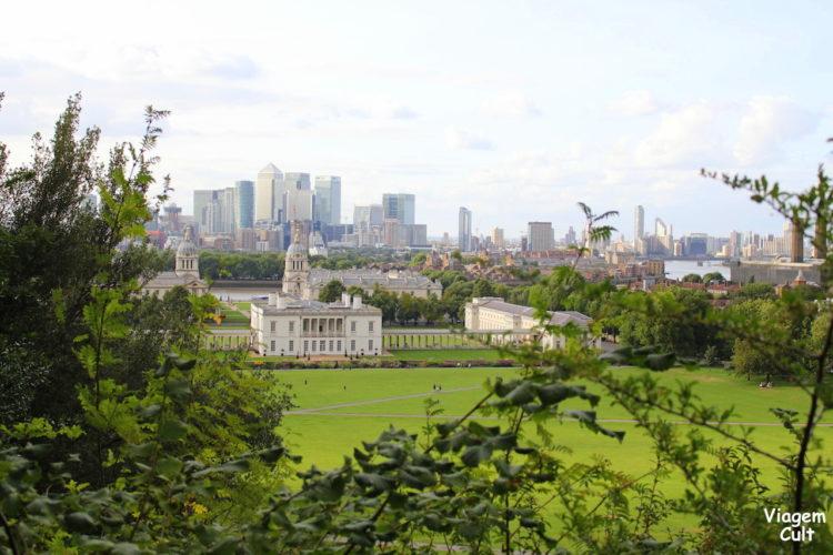O belo parque de Greenwich