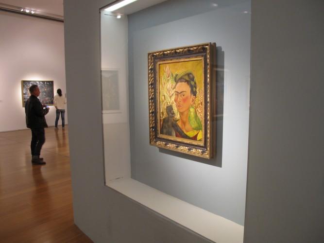 Auto-retrado da Frida Khalo
