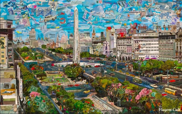 vik muniz obelisco