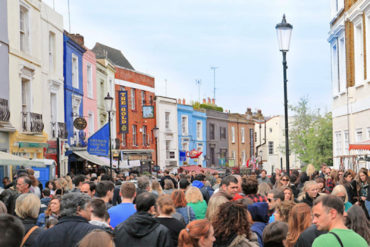 Feira de Porto Bello e Notting Hill