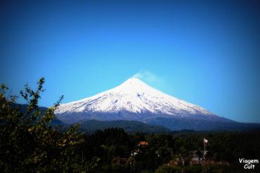 Subindo o Vulcão Villarica